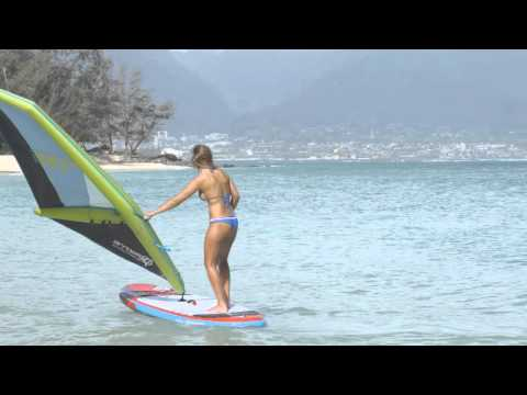 iRig, the first inflatable windsurfing rig