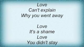 Jordan Pruitt - In Love For A Day Lyrics