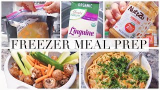 Fill Your Freezer! Healthy Freezer Meals For New Moms! Postpartum Prep