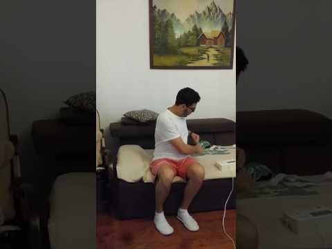 Exercițiu de yoga care are cataractă de vedere slabă
