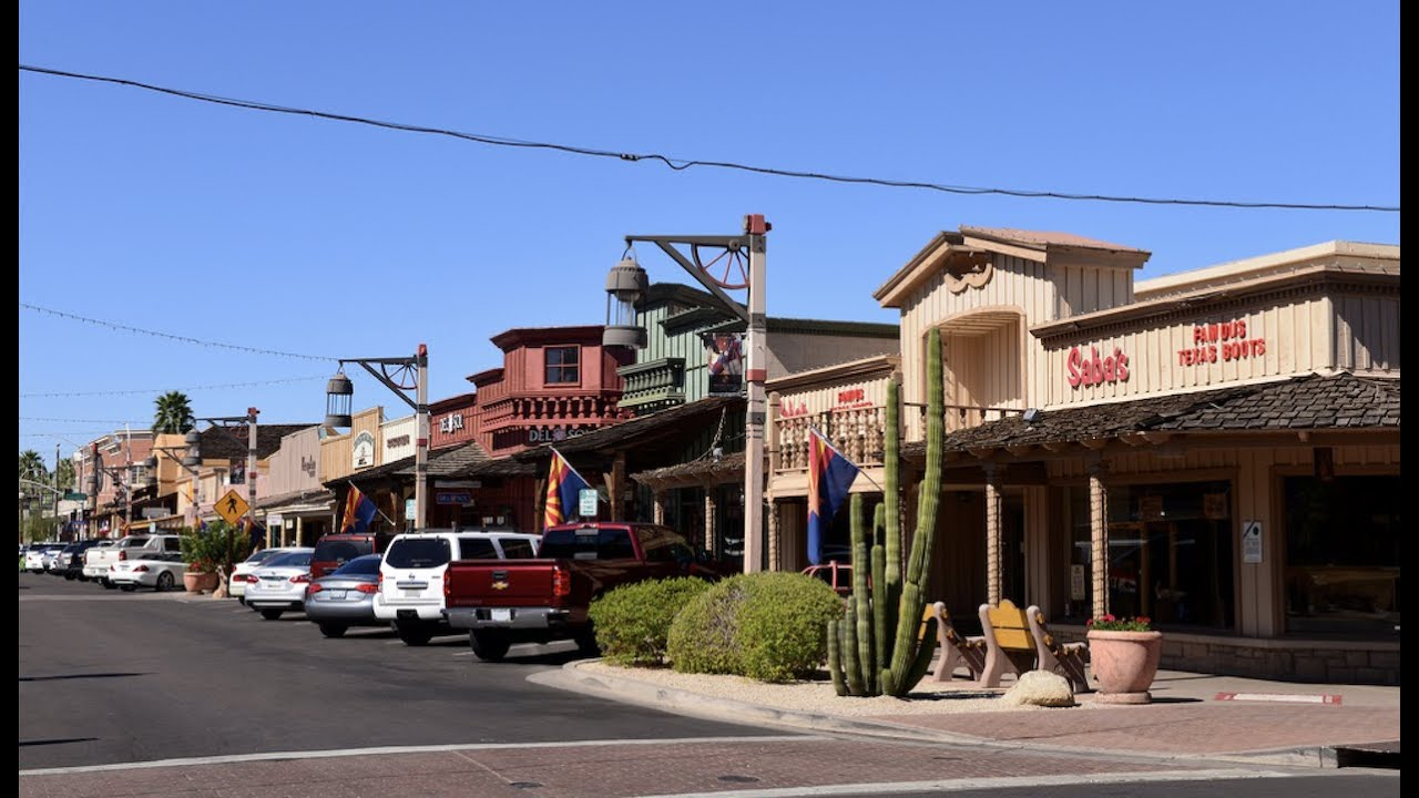 Join the party in Old Town Scottsdale