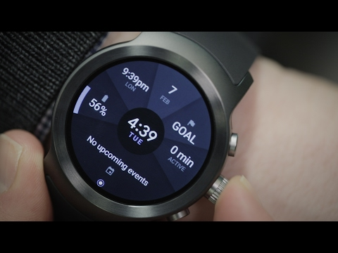 Android Wear 2.0 debuts on two new LG smartwatches