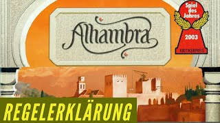 Alhambra - Regelerklärung - Brettspiel - Anleitung - Regeln - Spiel des Jahres 2003