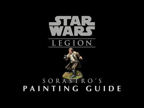 Sorastro's Star Wars Legion Painting Guide Ep.11 Han Solo
