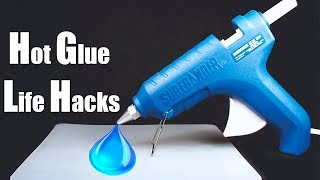 4 Awesome Hot Glue Gun Life Hacks