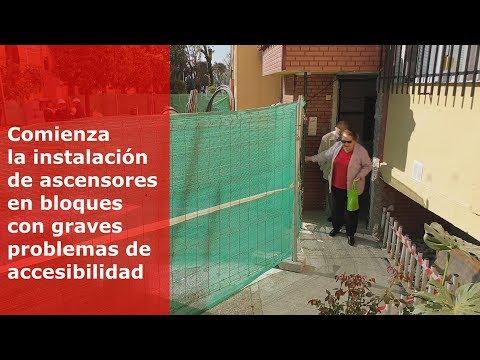 El Ayuntamiento de Sevilla instala ascensores a 200 sevillanos