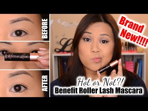 NEW!!! Benefit Roller Lash Mascara | Review + Demo