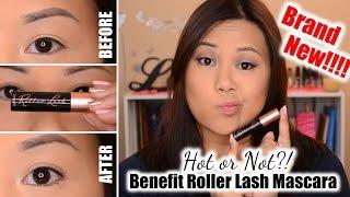 NEW!!! Benefit Roller Lash Mascara | Review + Demo
