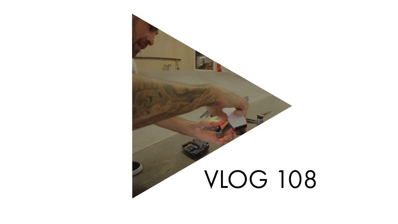"VLOG 108:  Chris ""Drama"" Pfaff Skate and Drone Skills - ericbork"