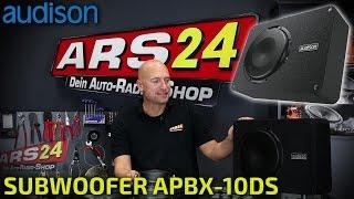 Audison APBX 10 DS   extraflacher Subwoofer   Produktvideo   ARS24