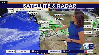 Weather forecast: Rain slows down as we start the weekend