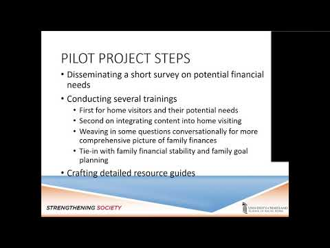 A snapshot of the Financial Lunch and Learn presentation
