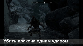 The Elder Scrolls V: Skyrim [Один удар, один дракон]