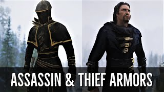 Skyrim: ►NEW Armor Mods | Agent - Thief - Assassin Armors (SSE)