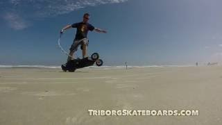 Triborg Electric Skateboards 3-wheel motorized powerboard