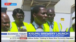 Kisumu residents staring at better days as EABL brewery set for launch