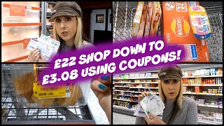 £22 ASDA Grocery Shop down to £3.08 using Coupons!