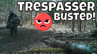 TRESPASSER BUSTED! CAUGHT ON CAMERA | *Adult On Youth Day*