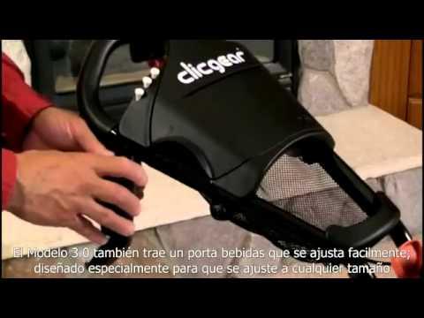 Carro De Golf 3 Ruedas Clicgear #96588