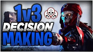 How To WIN MORE 1v3 GUNFIGHTS in Apex Legends Season 4! (Decision Making Tips)