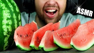 ASMR JUICY WATERMELON | EATING SOUND (NO TALKING) 🎧 BEST SOUND