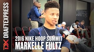 2016 Markelle Fultz Nike Hoop Summit Interview - DraftExpress by DraftExpress