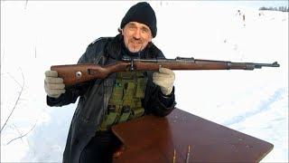 """Mauser 98k """"Сумрачный немецкий гений"""" Стрельба на 500 без оптики!!"""