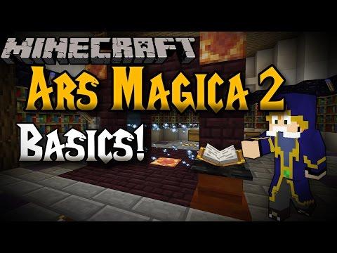 Minecraft | Ars Magica 2! Spell Basics! - 1.7.2