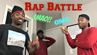 Looking Boy Freestyle Rap Battle!