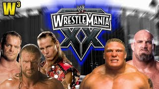 WWE Wrestlemania 20 Review | Wrestling With Wregret