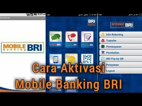 Cara Aktivasi Mobile Banking BRI