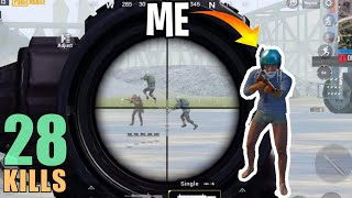 I PRETENDED TO BE A NOOB & KILLED 28 | PUBG MOBILE
