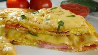 ✅Мега сытный и невероятно вкусный ЗАВТРАК за 15 минут/ Завтрак по новому/ Пицца