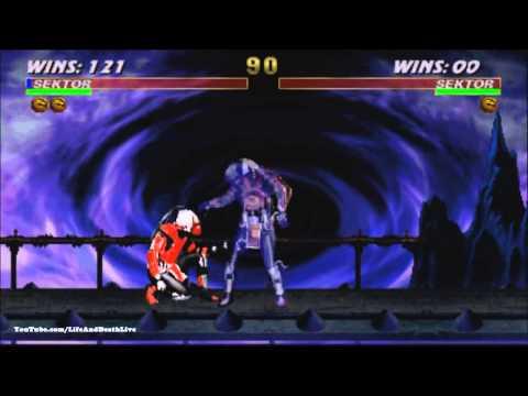 Ultimate Mortal Kombat 3 - Sektor fatality, animality