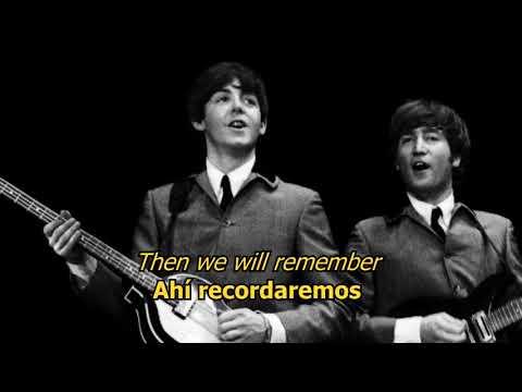 Things we said today - The Beatles (LYRICS/LETRA) [Original]