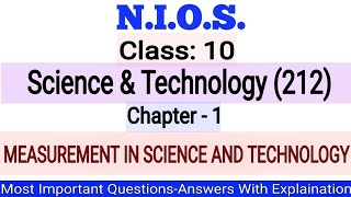 NIOS Class-10 Science & Technology(212) Chapter- 1