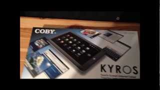Unboxing Coby KYROS MID1125-4G