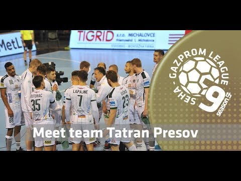 9th SEHA season: Meet team Tatran Presov