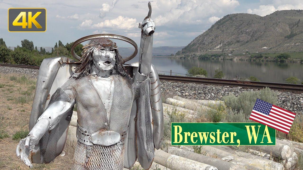 City of Brewster, Washington | Short City Tour | in 4K