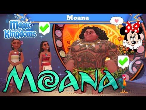 MOANA IS COMING! 🌴 DISNEY MAGIC KINGDOMS GAME FACEBOOK LIVESTREAM RECAP