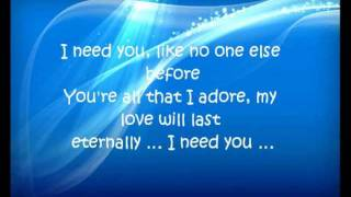 I Need You by Groove Coverage (remix))
