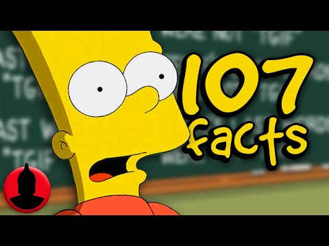 107 Bart Simpson Facts YOU Should Know! - Cartoon Character Facts! (107 Facts S6 E21)