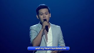 "AGT: The Champions Finalist Marcelito Pomoy sings ""You Raise Me Up"" on Wowowin"
