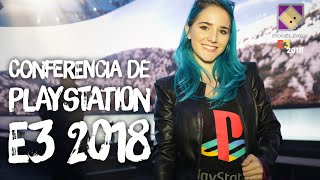 E3 2018 - TODO SOBRE LA CONFERENCIA DE PLAYSTATION