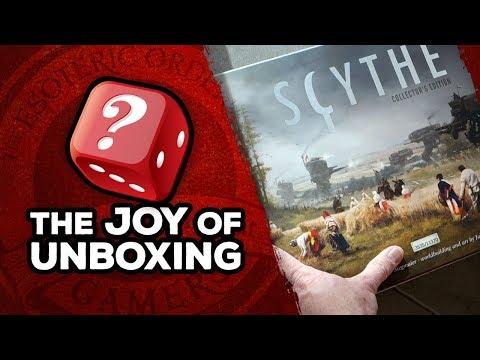 The Joy of Unboxing: Scythe
