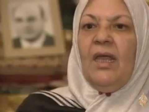 صدام حسين وزوجة يحيى المشد
