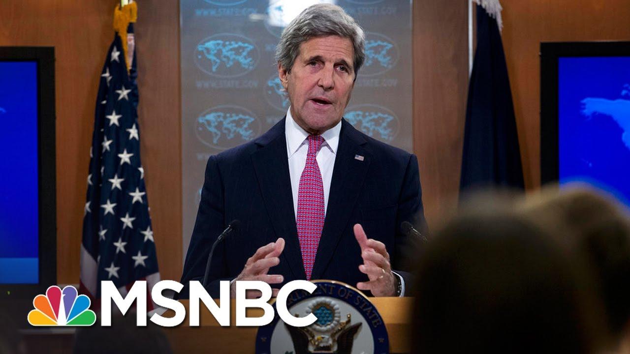 John Kerry's Israel Speech Draws Swift  Response   Morning Joe   MSNBC thumbnail