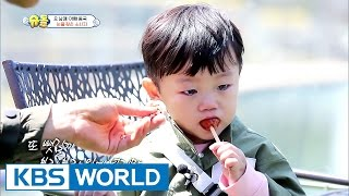 Daebak's teary sausage [The Return of Superman / 2017.05.21]