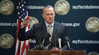 FULL: 9.19.2017 - Speaker Corcoran & Speaker pro tempore Nuñez Hold Media Avail on Select Commit