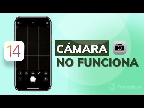 mi cámara no funciona tras actualización iOS 14